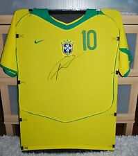 BRAZIL AC MILAN REAL MADRID SUPERSTAR LEGEND KAKA SIGNED SOCCER JERSEY W/PROOF