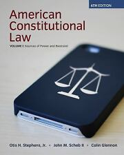American Constitutional Law Vol. 1 : Sources of Power and Restraint by Otis...