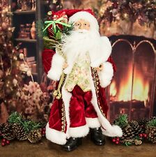 47cm Retro Vintage Style Father Christmas / Santa Claus Christmas Decoration