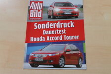 77413) Honda Accord Tourer 2.2i DTEC Dauertest - Sonderdruck Auto Bild 01/2011