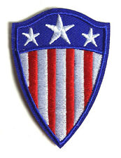 """Classic 1940s Captain America Shield SMALL 3"""" Patch-FREE S&H(CAPA-CLSH-S)"""