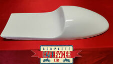 DUCK BILL CAFE RACER STYLE SEAT NEW & UNUSED IN WHITE
