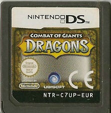 NINTENDO DS COMBAT OF GIANTS DRAGONS GAME CARTRIDGE ONLY
