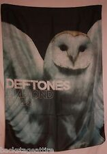 DEFTONES Diamond Eyes Owl Textile Fabric Cloth Poster Flag Wall Banner Tapestry