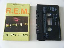 R.E.M. THE ONE I LOVE CASSETTE TAPE SINGLE I.R.S. UK 1991