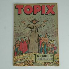 TOPIX by Pat McGuire Comic Graphic Novel - October 24, 1949 - The Great Sorcerer