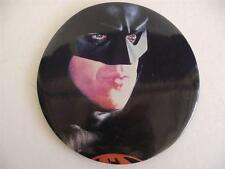 "JUMBO 6"" Batman 1989 Button Pin Pinback DC Comics Michael Keaton big large vtg"