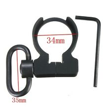 New Quick Detach QD Sling Swivel Clamp-on Single Point Sling Adapter