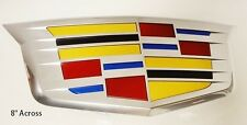 Cadillac XTS 2016 GRILLE CREST OEM FACTORY GM NEW STYLE CHROME