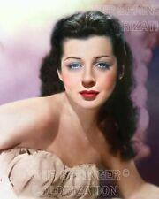 GAIL RUSSELL PORTRAIT #5 BEAUTIFUL COLOR PHOTO BY CHIP SPRINGER