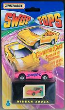 Matchbox Swop Tops Nissan 300ZX MOC 1992 VHTF Convertible w/Secret Trick Europe