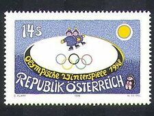 Austria 1998 Winter Olympic Games/Sports/Olympics/Skating/Animation 1v (n37049)
