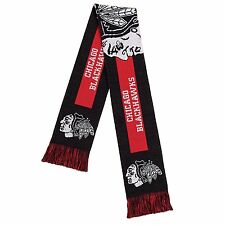 Chicago Blackhawks Big Logo Scarf NHL Forever Collectibles