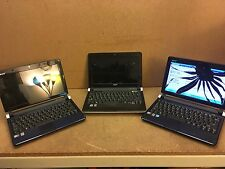 LOT OF 3 ACER ASPIRE ONE 2- D250-1538 1- D150-1669s LAPTOPS / 160G HD (lp90)