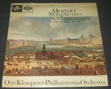 Mozart - Symphony No. 31 / 34 Otto Klemperer Columbia 33cx 1906 lp