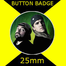 """Jay and Silent Bob Green - Button Badge 25mm 1"""" D Pin - # CD09876"""