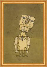 Ghost of a Genius Paul Klee Figuren großer Kopf Glatze Schädel Augen B A3 03028