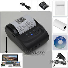 New Bluetooth Wireless Pocket Photo Mobile Thermal Receipt Printer For Apple IOS