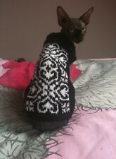 Personnalisé sphynx Peterbald chat pull made to measure