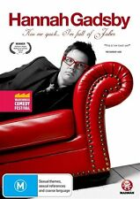Hannah Gadsby - Kiss Me Quick, I'm Full of Jubes NEW R4 DVD