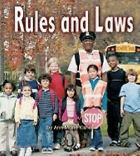 First Step Nonfiction - Government: Rules and Laws by Ann-Marie Kishel (2007,...