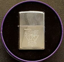 Zippo 1994 Smokin' Joe's Racing Camel Lighter in Cylinder Purple Tin Unstruck