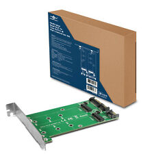 Vantec Multi-size Dual M.2 to Two SATA III Port Converter Kit