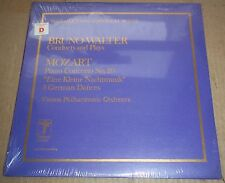 Bruno Walter conducts & plays MOZART Concerto No.20 - Turnabout THS 65036 SEALED