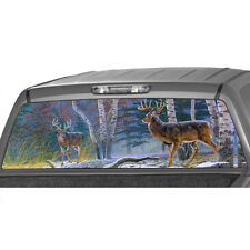 DEERs in a FORREST Window Graphic Tint Decal Sticker Truck Jeep SUV hunt camo