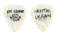 Keith Urban White Pearl Guitar Pick - 2011 Get Closer Tour