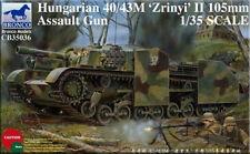Bronco 1/35 35036 Hungarian 40/43M 'Zrinyi' II 105mm Assault Gun