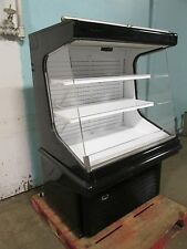 """""""HUSSMANN GSVM-4060"""" COMMERCIAL REFRIGERATED LIGHTED OPEN VERTICAL DISPLAY CASE"""