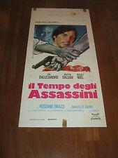 LOCANDINA,1975, IL TEMPO DEGLI ASSASSINI, JOE DALLESANDRO, BALSAM ANDREI