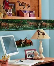 WILD HORSES 24 BiG Wall Stickers Room Decor Ranch Mustang Western Farm Decals
