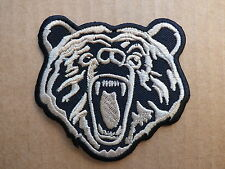 ECUSSON PATCH THERMOCOLLANT OURS trike biker country harley rock / 7.5 x 7.5 cm