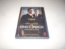 THE KING'S SPEECH DVD STARRING COLIN FIRTH & GROFFREY RUSH