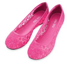 Women Shoes Ballet Sand Shoes Lace Flat Loafer Ballerina - ON SALE