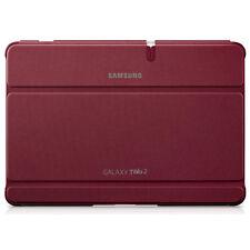 Nuevo Original Samsung Galaxy Tab 2 10.1 Pulgadas Libro Funda En Rojo efc-1h8srecstd