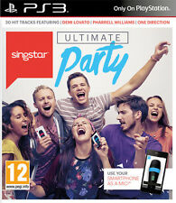 Singstar Ultimate Party (usa lo smartphone come microfono) PS3 Playstation 3