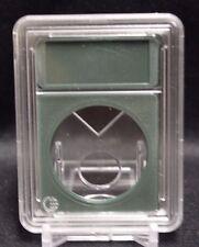 Premium Slab Coin Holder for ASE US American Silver Eagle Dollar Case Green