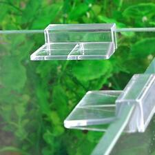 4pc Support Porte Clip De Couvercle Détenteur Aquarium Poisson Verre Holder