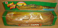 BIG JIM 9402 ADVENTURE SET INDIAN-CANOE/CANOA INDIANA (KARL MAY) MATTEL 1977