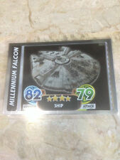 STAR WARS Force Awakens - Force Attax Trading Card #179 Millennium Falcon