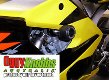 OK752 SUZUKI GSXR1000 2005-06 OGGY KNOBBS KIT (BLACK KNOBS) Crash Protection