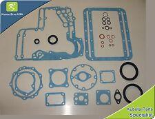 New Kubota D750 Lower Gasket Kit