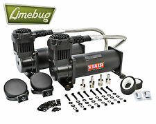 Viair 444C Stealth Black Dual Pack 12 Volt Air Compressor Kit (200PSI) Air Ride