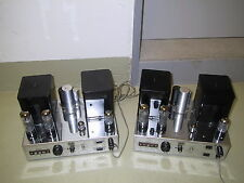Gray Research AM 50 tube amplifiers; matched pair, plug & play, very good cond.
