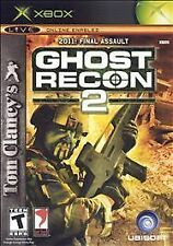 Tom Clancy's Ghost Recon 2 (Microsoft Xbox, 2004) - CIB ---Complete!!!