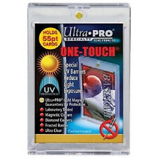 200 ULTRA PRO One Touch Magnetic Holders 55pt UV Gold Magnet 55 point