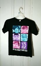 ONE DIRECTION TOUR TEE SMALL BLACK SHORT SLEEVE GRAPHIC